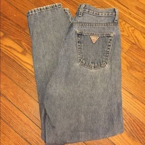 """Vintage guess high waist """"mom"""" jeans"""